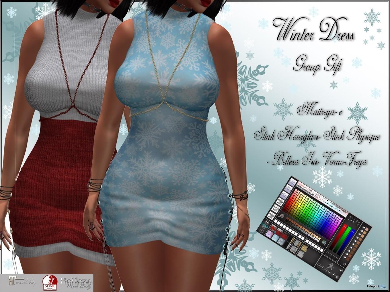 Actriz Porno Con Rosa Azul Tatuada En El Vientre winter dress with color & texture hud novem