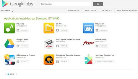 Astuce/Tuto : Installer à distance une application Google Play sur son téléphone ou sa tablette Android | Autour de... Sam | Nas et réseaux | Scoop.it