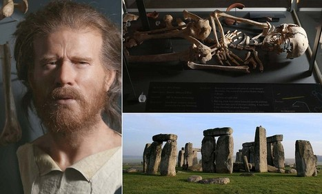 GB : The face of prehistoric Britain: Forensic scientist uses Neolithic man's 5,500-year-old skull to create lifelike image. -  27million-Stonehenge-visitor-centre-opens | World Neolithic | Scoop.it