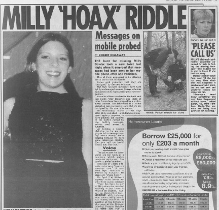 How News of the World's Milly Dowler stories changed between editions | Multimedia Journalism | Scoop.it