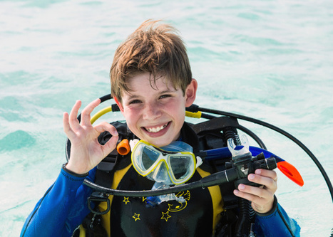 Helping Kids Build Confidence Through Scuba Diving • Scuba Diver Life | DiverSync | Scoop.it