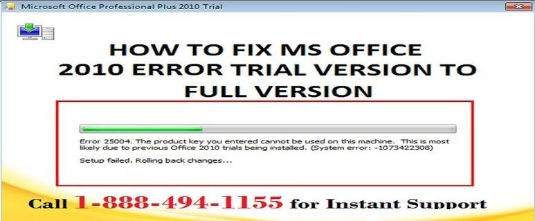 office 2010 key trial version