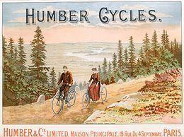La publicité pour les marques de cycles : l'angle des loisirs - L'Histoire par l'image   GenealoNet   Scoop.it