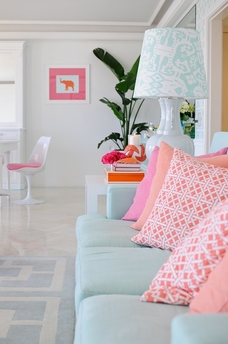 House of Turquoise: Maria Barros + The Pink Pag...