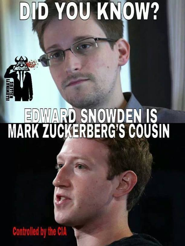 Mark Zuckerberg Was Hired By The Cia Through Hi