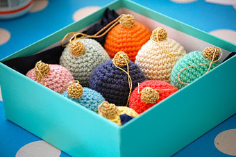 Greedy For Colour: A Christmas Bauble Tutorial. | Du fait main & some handmade | Scoop.it
