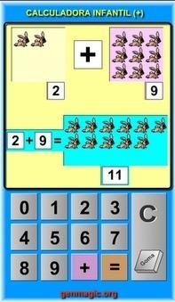 Calculadora infantil de sumas | Recull diari | Scoop.it