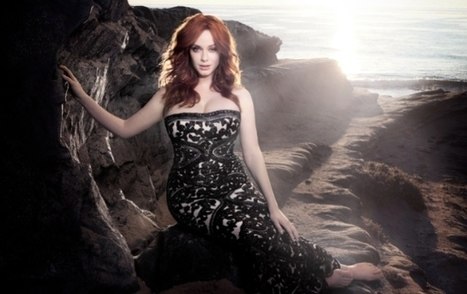 Christina Hendricks on 'Mad Men', Sexual Confidence, and Her Early Goth Days | Inspiring Stories | Scoop.it