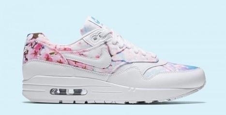 "uk availability 9c09a 3f7b6 Nike présente la WMNS Air Max 1 ""Cherry Blossom"" - Mula"