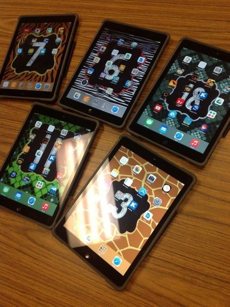 5 ways to utilize iPad backgrounds & lockscreens   Technology Erintegration   iPads and Other Tablets in Education   Scoop.it