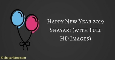 Happy New Year 2019 Shayari With Full Hd Image