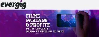 Evergig le site de vidéo-concert participatif | Musique sociale | Scoop.it