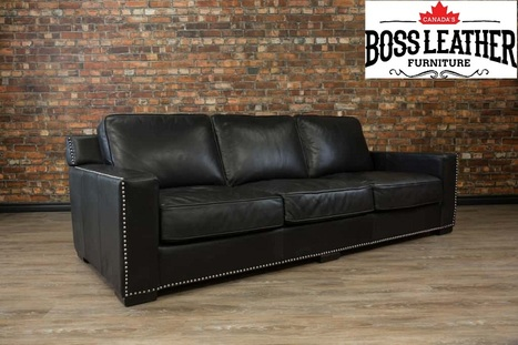 Genuine Leather Sofas Toronto | Boss Leather So...