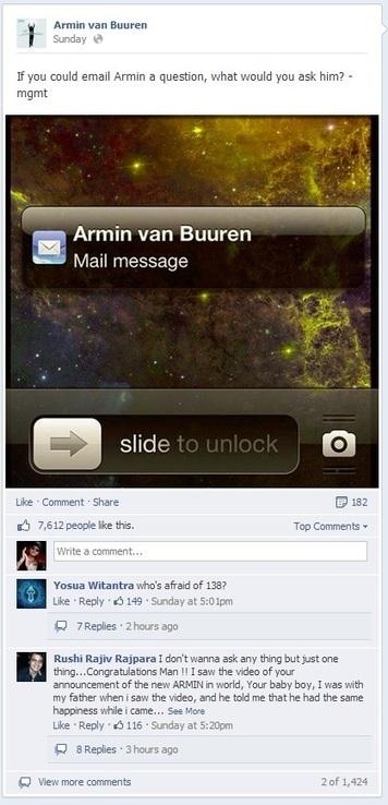 How Armin van Buuren added 192,000 fans on social media in 30 days | Social Media Digest(ed) | Scoop.it