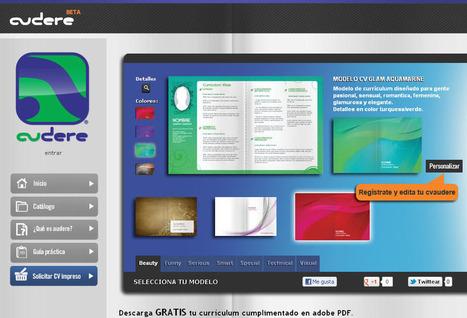 Crea online tu currículum vítae, usando elegantes plantillas prediseñadas | Una Zona Geek | veronicaintec@educ.ar | Scoop.it