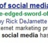 Article Marketing -  Its a brave new world