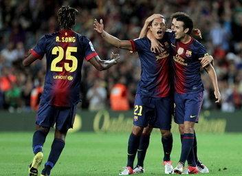 El Barça vence al Valencia gracias a un golazo de Adriano | FCBarcelona | Scoop.it