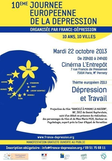 10ème Journée Européenne de la Dépression | Info Psy | Scoop.it