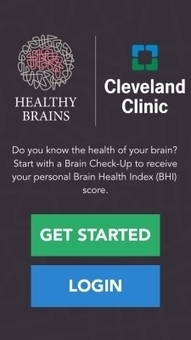 Cleveland Clinic takes brain health research mobile with the Healthy Brains app   Internet of Things - Technology focus   Scoop.it