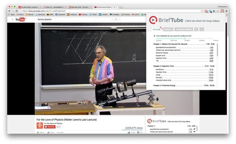 This Chrome add-on makes watching lectures on YouTube easy | 2.0 Tech Tools for Education | Scoop.it