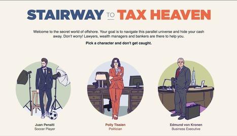 Stairway to Tax Heaven | Interactive & Immersive Journalism | Scoop.it