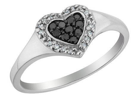 AMDXD Stainless Steel Promise Ring Arrow Heart Lover Promise Rings