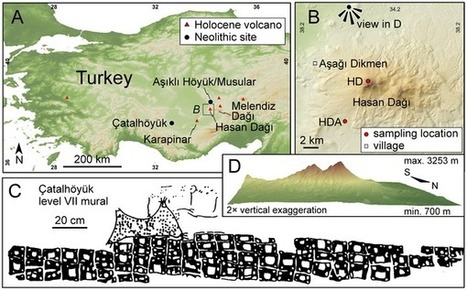 Neolithic Mural: A Volcanic Eruption Of 6,900 BC? | Ancient Origins of Science | Scoop.it