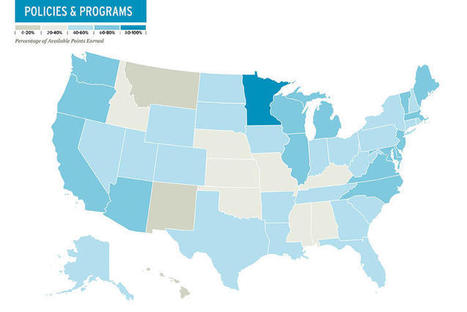 The Most Bike-Friendly States In The U.S. | green infographics | Scoop.it