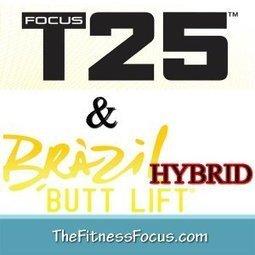My Brazil Butt Lift and Focus T25 Hybrid Schedu