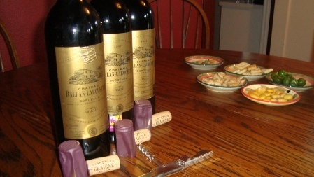 A Bordeaux Vertical w/ Enough Food to Make a Man Grow Horizontally. | Nombrilisme | Scoop.it
