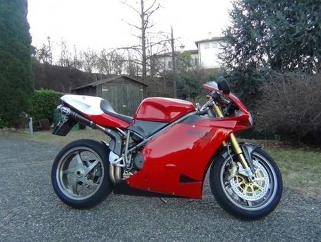 Rare SportBikes For Sale    For collectors only: Ducati 996R (Zürich)   Desmopro News   Scoop.it
