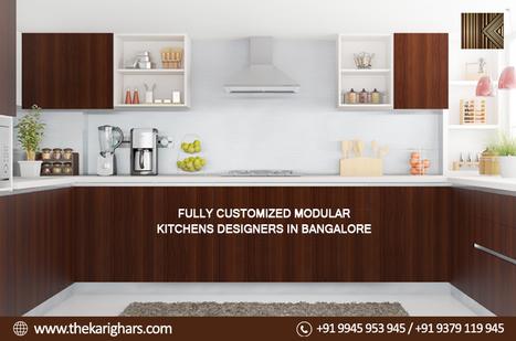 Elegant Modular Kitchens Designers In Bangalore