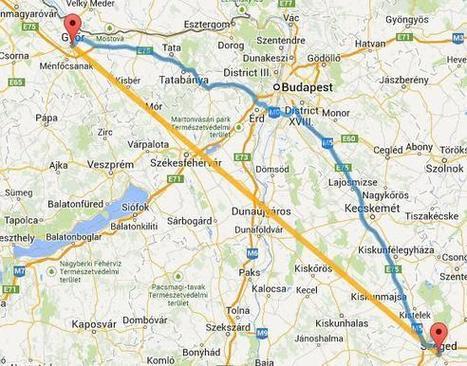 távolság térkép Távolságok térképen távolság térkép