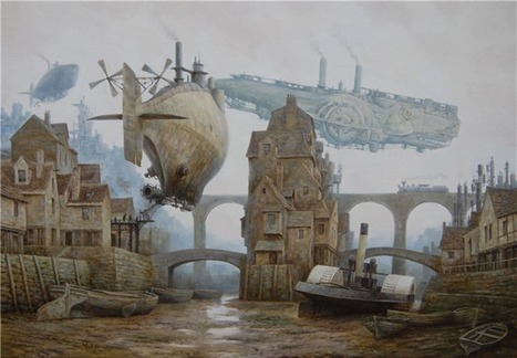 steampunk world by Vadim Voitekhovitch – Transparent.Cities | Just Put Some Gears on It | Scoop.it