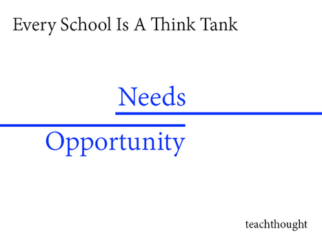 School Design: Every School Is A Think Tank | TeachThought | Scoop.it