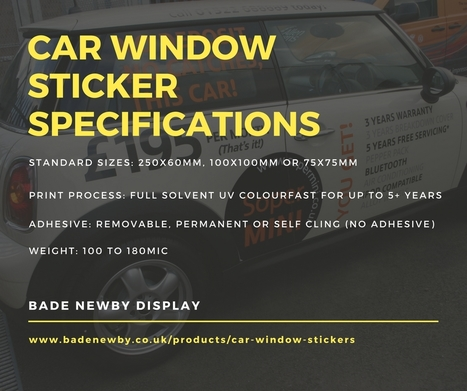 Decorative design car window stickers for sale vinyl stickers printing uk scoop it