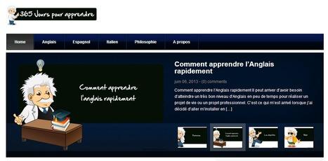 365 Jours pour Apprendre - Cours d'anglais gratuits en ligne, espagnol, italien, philosophie gratuits | télétravail | Scoop.it