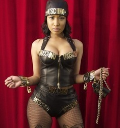 Nicki Minaj In Leather Corset | Front Page Buzz | Women | Scoop.it