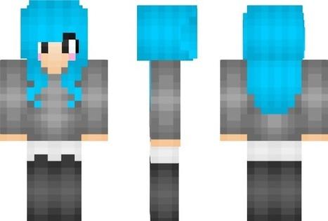 electric girl minecraft skin in tumblr scoop it