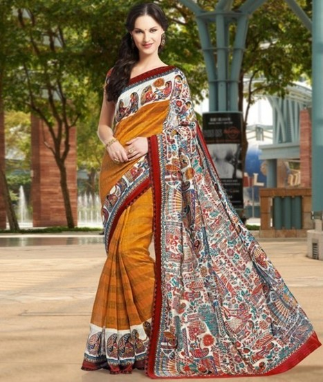 Kanjivaram silk' in Designer Sarees and Anarkali Suits | Scoop.it