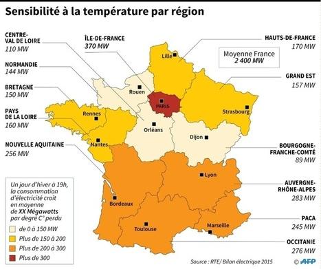 Froid: le chauffage électrique, un risque pour le réseau? | Planete DDurable | Scoop.it
