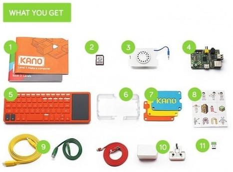 Kano : l'ordinateur qu'on construit soi-même | Ressources pour la Technologie au College | Scoop.it