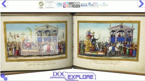 DocExplore : logiciel libre pour créer des livres interactifs augmentés | TICE, Web 2.0, logiciels libres | Scoop.it