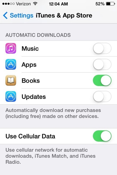 iOS 7 How-to: Set up Automatic App Updates | 9to5Mac | Education Library and More | Scoop.it