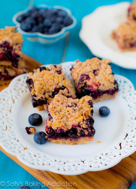 Apple Blueberry Pie Bars. #Food #Recipe   The Man With The Golden Tongs Hands Are In The Oven   Scoop.it