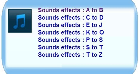 Universal-soundbank free online sounds | ICT in Education | Scoop.it