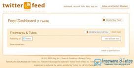 Twitterfeed : automatiser la publication de ses articles sur les réseaux sociaux   Orangeade   Scoop.it