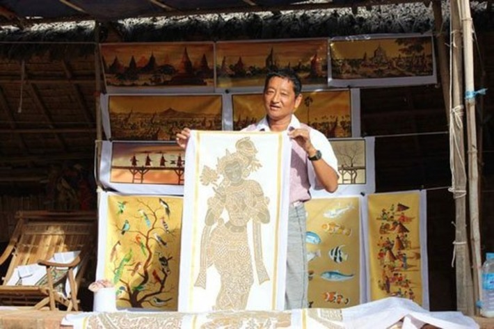 Bagan's Painters Add Gritty Dimension to Their Craft   The Irrawaddy   Kiosque du monde : Asie   Scoop.it