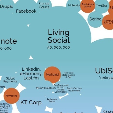The World's Biggest Data Breaches in One Stunning Visualization | An Eye on New Media | Scoop.it