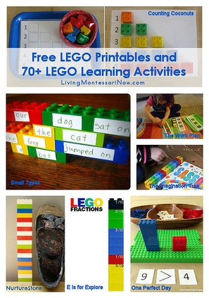 Free LEGO Printables and 70+ LEGO Learning Activities | Visual and Creative Arts | Scoop.it
